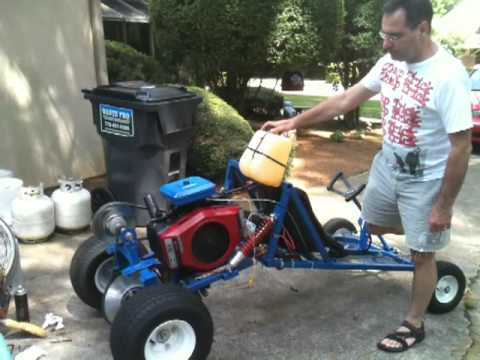 Dune buggy gokart 18hp opposed cylinder | FunnyCatTV