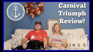 Carnival Triumph | Our Review and Thoughts on our Cruise!