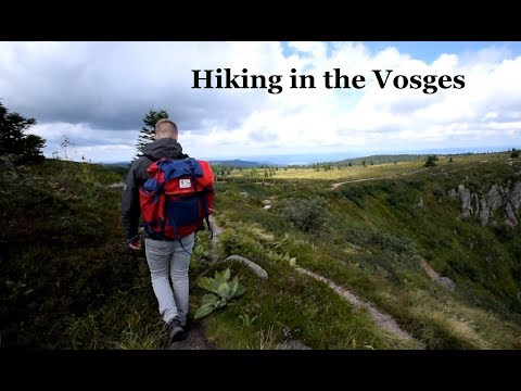 Hiking in the Vosges , France  - Travel Video -
