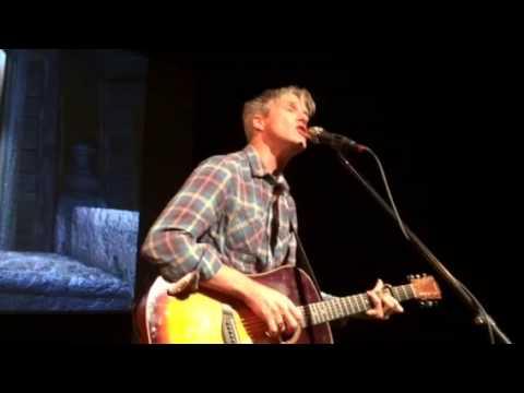 Steve Poltz plays a Pete Seeger song Waist Deep In the Big