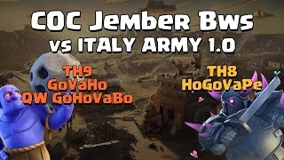 Clash of Clans - Valkyrie Attacks Strategy - COC Jember Bws War Highlights #2