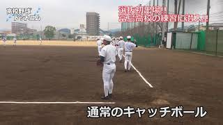 選抜初出場!富島高校の練習に潜入!