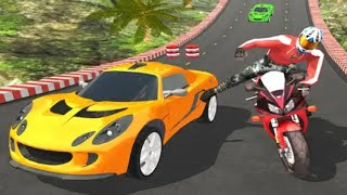 CAR Vs BIKE RACING ANDROID GAME PLAY