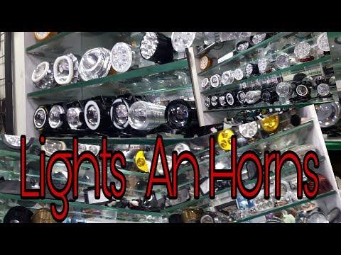    HID LIGHTS Or HORNS   cheap price   karol Bagh   Part 3  
