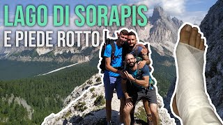 LAGO DI SORAPIS dal Passo Tre Croci - Trekking