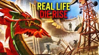 Die Rise in Real Life  (Storyline, Location and History)