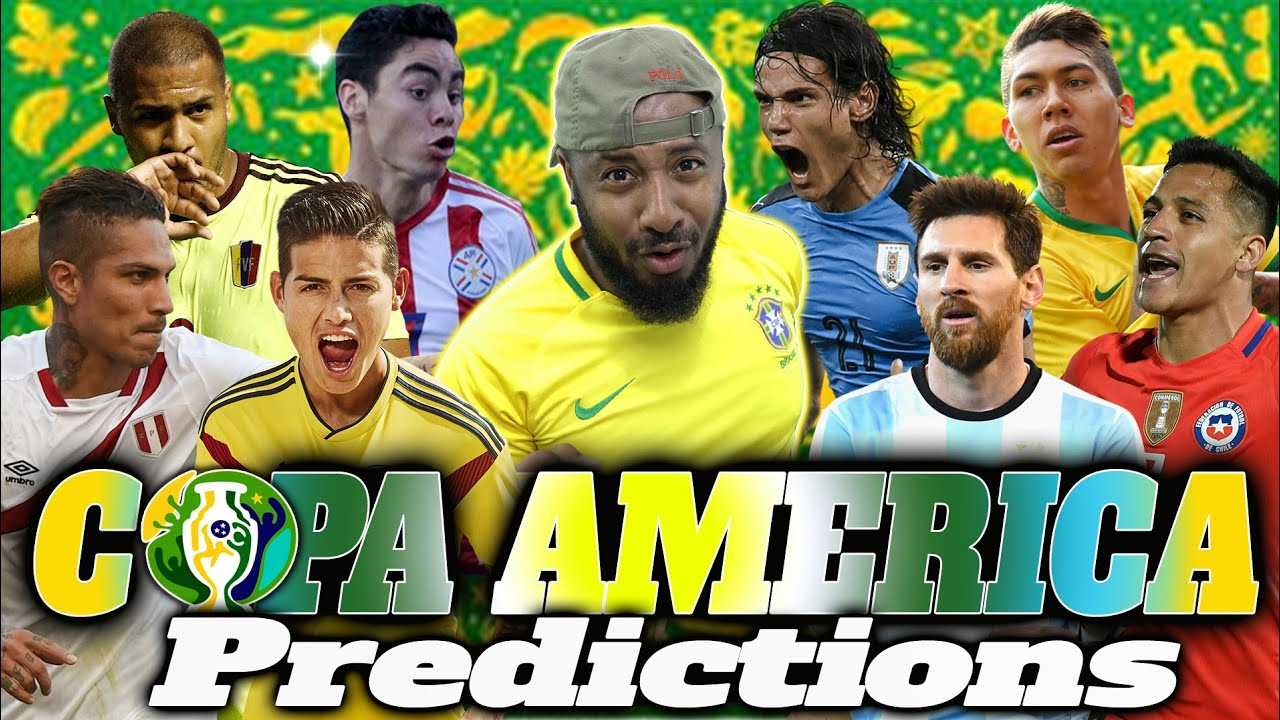 2019 Copa America Quarter-finals Predictions *Updated*