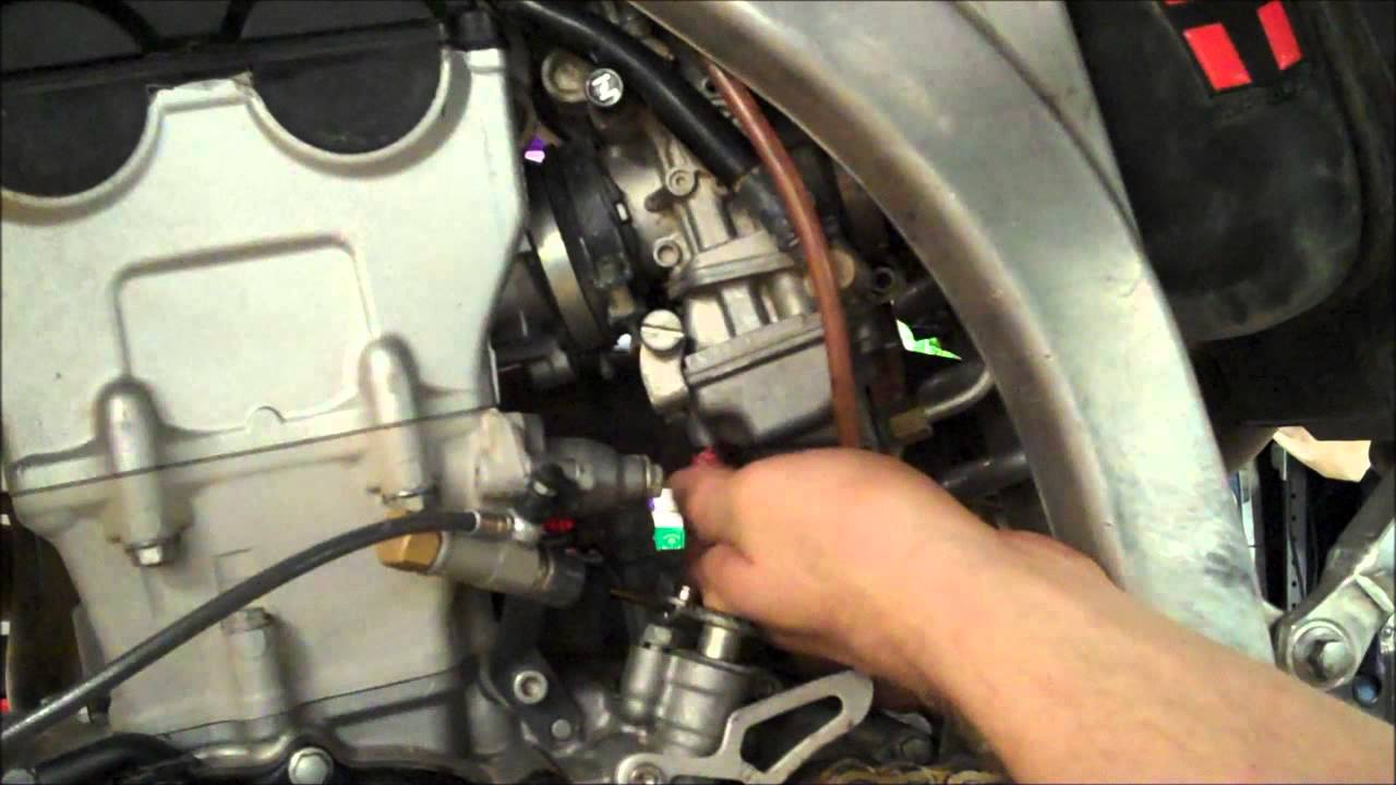how to 4 stroke mx fuel screw adjustment yzf crf kxf rmz fcr part 1 of 2 youtube [ 1280 x 720 Pixel ]