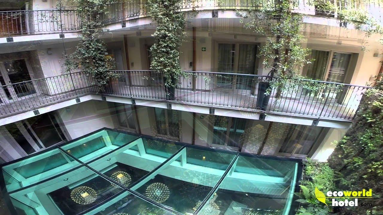 DRONE all'Hotel Milano Scala - YouTube