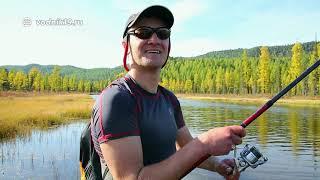 ВОДОМЕТНОЕ САФАРИ      ч.2  Путешествие на водометных лодках и рыбалка на горных реках Сибири