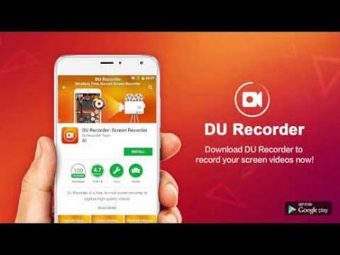 (HINDI) How to record your mobile screen for free | DU -  Recorder