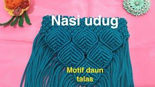 Video Tas tali kur motif daun talas by nasiudug download MP3, 3GP, MP4, WEBM, AVI, FLV Agustus 2018