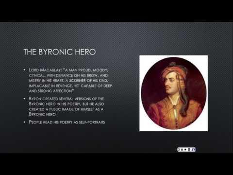 Byron and the Byronic Hero