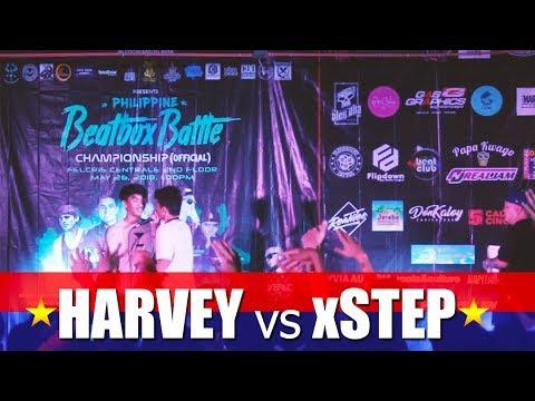 Philippine Beatbox Battle   HARVEY vs xSTEP   Top 16