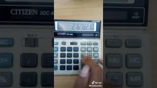 Trick angka di kalkulator lucu