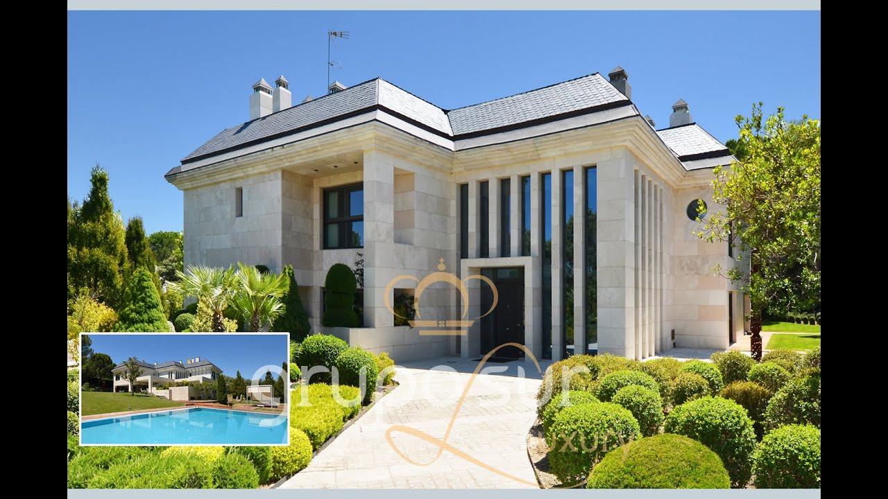 90001 maison espagne exclusif villa de luxe dans la moraleja madrid espagne youtube for Maison de luxe espagne