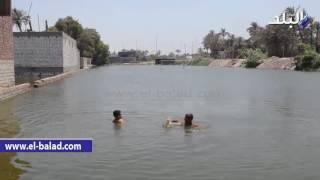 بالفيديو والصور.. مركز شباب أطفيح يتحول إلى ترعة