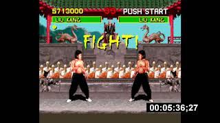 [TAS][PAL][SNES] Mortal Kombat, fini en 00:10:48;06