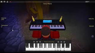 L's Theme - Death Note by: Yoshihisa Hirano on a ROBLOX piano. [Revamped]