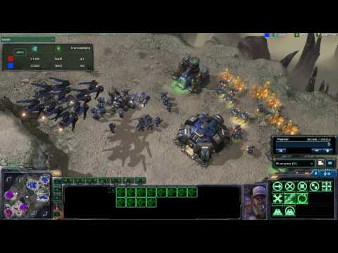 Starcraft 2 Jero(Z) vs SssM(T) on Desert Oasis Part 3