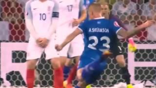 Англия Исландия 1 2 обзор матча
