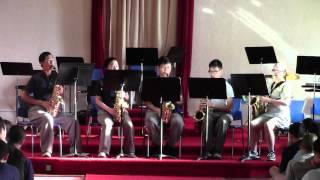 Video Mynarski Saxophone Quintet - The Muppet Show Theme download MP3, 3GP, MP4, WEBM, AVI, FLV Agustus 2017