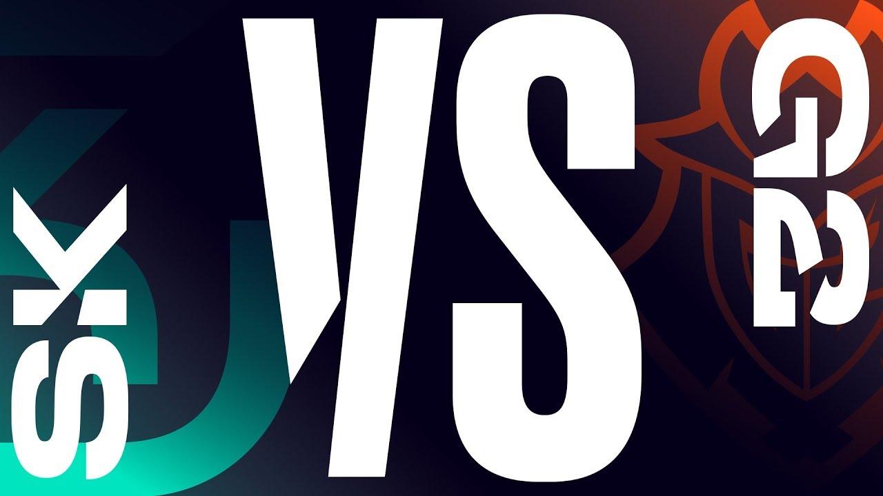 SK vs. G2 - Week 6 Day 2 | LEC Summer Split | SK Gaming vs. G2 Esports (2019)