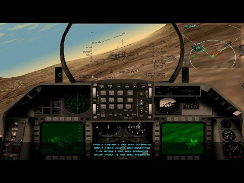 F-16 Multirole Fighter - Campaign 5 - Mission 8  