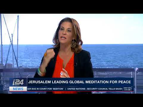 jerusalem Global Meditation for Peace  Amanda Ronson