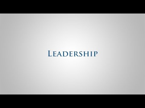 Leadership – Our Core Values