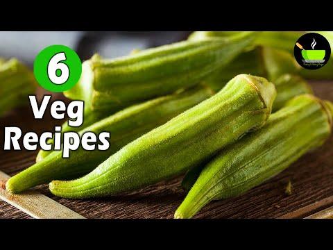 6 Veg Recipes | Quick & Easy Sabzi Recipes | 6 Best Vegetarian Recipes| 10 Minute Vegetarian Recipes