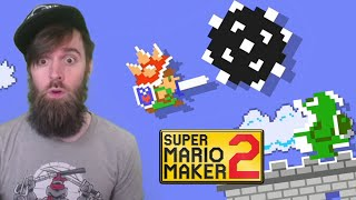 Hello Mario, This is Dark Souls // ENDLESS SUPER EXPERT [#49] [SUPER MARIO MAKER 2]