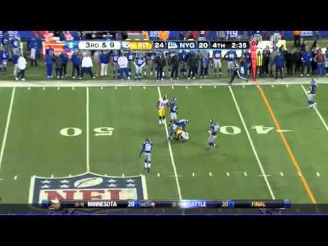 Emmanuel Sanders Steelers 2012 Highlights