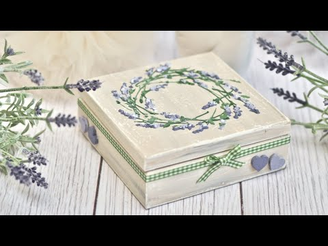 An easy-to-make lavender box -  DIY  Tutorial By Catherine thumbnail