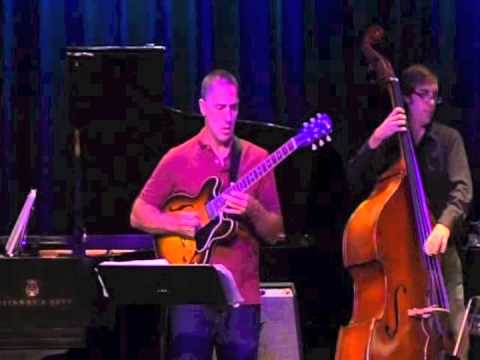 Performing with the John Funkhouser Quartet at Berklee College of Music.