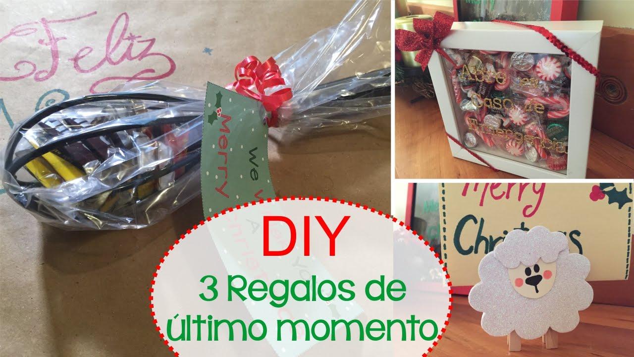 Diy 3 regalos de ltimo momento para navidad youtube - Regalos para ella navidad ...
