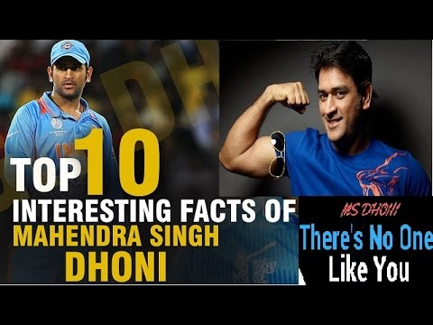 MS Dhoni Top 10 Amazing Facts About MS Dhoni | Interesting & Unknown Facts | Tribute To Mahi