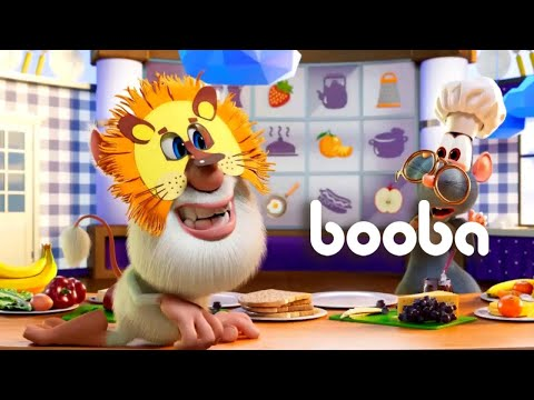 Booba 🍔🥪🌮 Sandwiches 🐭 New 💚 Episodes Collection ⭐ Funny Cartoons Compilation 💥 Moolt Kids