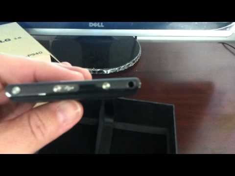 LG P940 PRADA 3.0 Unboxing Video - Phone in Stock at www.welectronics.com