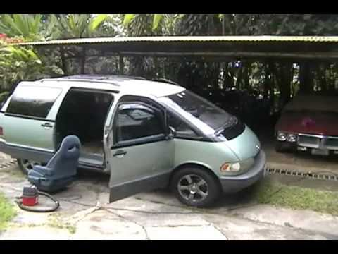 1991 toyota previa tear down and rebiuld part i youtube. Black Bedroom Furniture Sets. Home Design Ideas