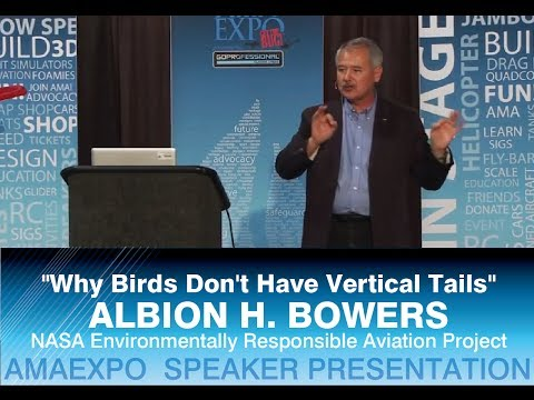 "NASA's Albion H. Bowers - ""Why Birds Don't Have Vertical Tails"" - AMA EXPO 2014"