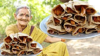 Chicken Egg Paratha Roll Recipe by My Grandma || Myna Street Food