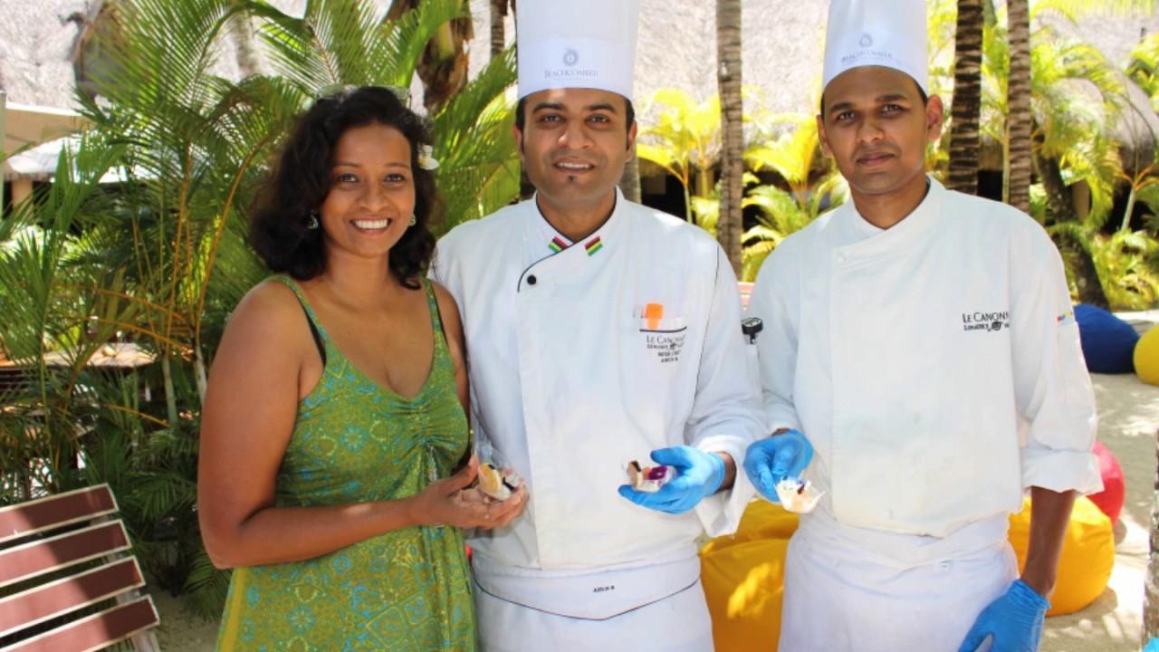 Atelier cuisine mauricienne h tel le canonnier beachcomber for Cuisine mauricienne