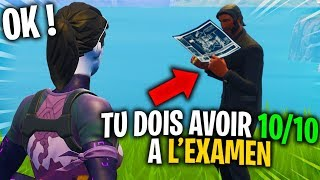 "I had a 'EXAMEN' to join a Team ""PRO"" Fortnite..."