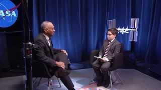 Aspiring Reporter Interviews Bolden about NASA