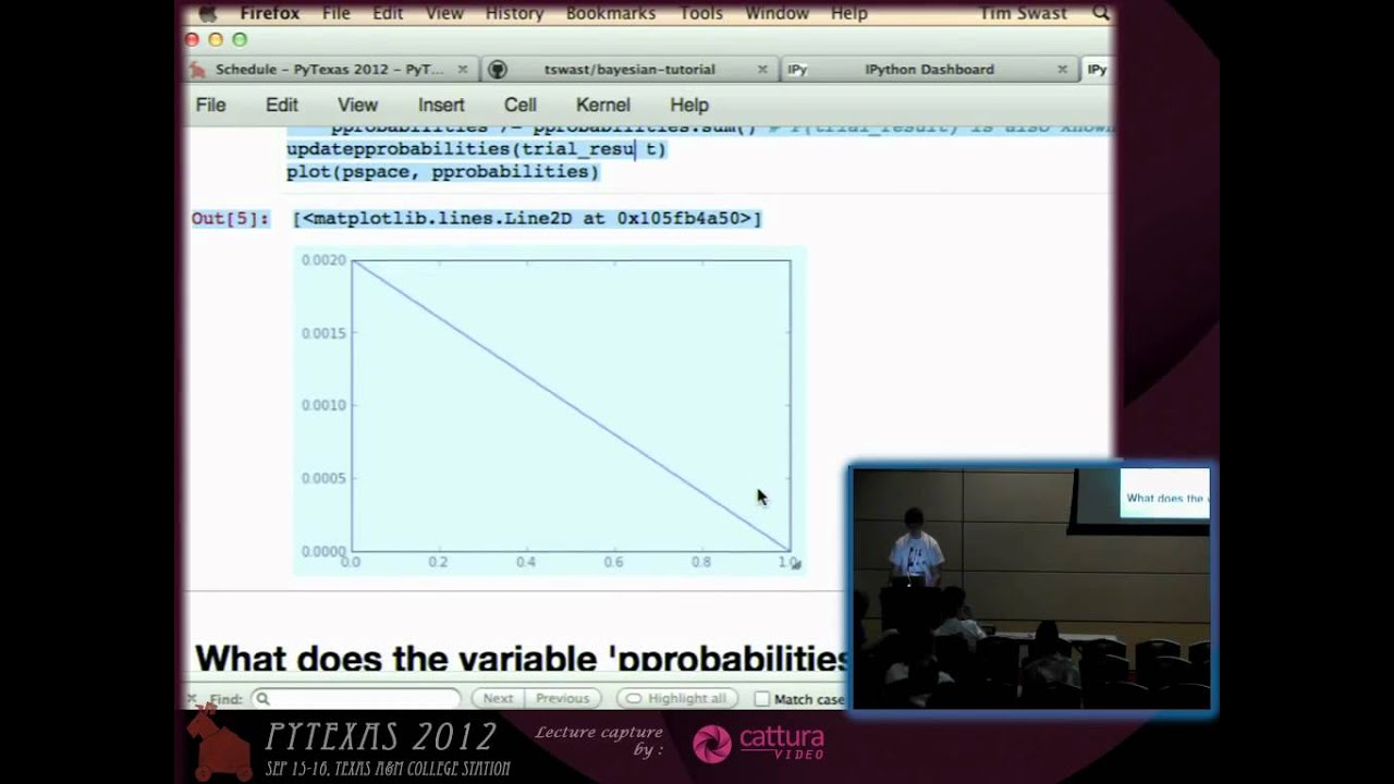 Image from Lightning Talk: Bayes rule on Flipping a Coin