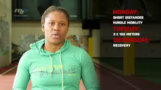 Lauryn Williams: Week 3 100m Training Plan - Acceleration Phase 3