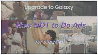 How NOT to do Advertisements (Samsung, Apple, Subaru, Audi Ads)