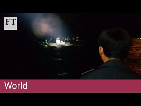 South Korea fires on Chinese ships