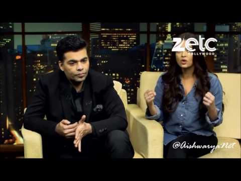 Aishwarya Rai Bachchan & Karan Johar Interview with Komal Nahta • Part 2